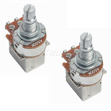 2pcs A500k Guitar Bass Push Pull Control Pots Potentiometers