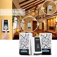 Waterproof Wireless Doorbell Remote Control Door bell 36 Chimes Songs Forec