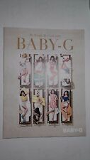 SNSD Girls Generation 2015 CASIO BABY-G PHOTO CATALOGUE CATALOG BOOK New