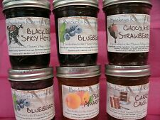 Homemade Jams or Jellies. 6 of your choice gourmet jams  holiday gift for Mom