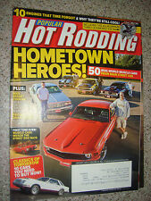 Jan 2011 Popular Hot Rodding: 50 Real World Musclecars, 10 Cars you need to Buy