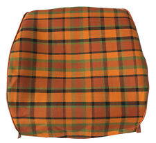 Westfalia Front Seat Open Back Cover VW T2 Late Bay Orange Plaid as Orig. C9253O