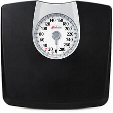 Dial Weight Scale 330lb Sunbeam Body Monitoring Bathroom Health Personal