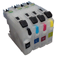 For Brother MFC-J460DW J480DW J485DW J680DW refillable ink cartridge LC205 LC203