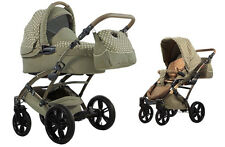 Knorr Baby 2in1 Kinderwagen Voletto Tupfen Limited Edition sand-beige 33000-03