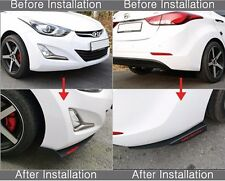 Morris Club Front or Rear Canard Wing Cup Splitters for Hyundai Elantra MD