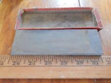 Antique Carborundum Razor Hone in Partial Original Box! Used, Good!