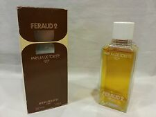 Louis Feraud 2 Donna Woman Femme Profumo PDT 240ml. Hanorah. Vintage, Raro