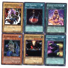 Ω YUGIOH Ω Lot de 6 Belles Cartes Lot N° YT 35