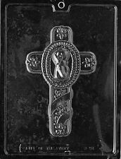 BABY BAPTISM CROSS  MOLD communion confirmation christening cake topper molds