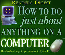 HOW TO DO JUST ABOUT ANYTHING ON A COMPUTER HARDBACK BOOK READERS DIGEST GREEN