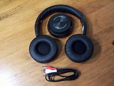 Wireless Headphone (Swivel) System Digital RF 49mhz TV Sterio iPod MP3 Player
