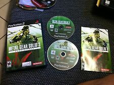 Metal Gear Solid 3: Subsistence  (PS2)2 DISC GAME