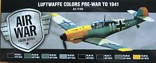 Vallejo Model Air val71165 pre seconda guerra mondiale a 1941 LUFTWAFFE 8 Colori Pittura Set