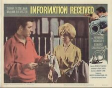 Information Received 11x14 Lobby Card #8