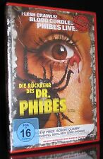 DVD DIE RÜCKKEHR DES DR. PHIBES - HORROR CULT - UNCUT - VINCENT PRICE ** NEU **