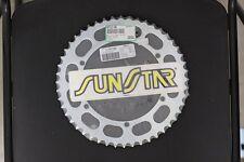 New Steel Sunstar Rear Sprocket 48T Yamaha YZ250 TT500 YZ400 IT250 IT400 MX250