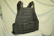 Black Tactical Molle/ Plate Carrier Vest