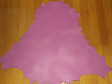 TWO (2) DUSTY PINK Kangaroo leather VEG TANNED SKINS 800 mm x 800 mm