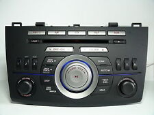 Mazda 3 2010 CD MP3 WMA SAT player BBM266AR0A BBM266AH0A TESTED 51603gs