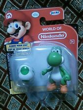 NEW World of Nintendo Super Mario Brothers Figure Yoshi BONUS Yoshi Egg