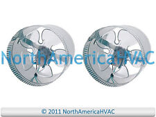 "2x 10"" Round In-Line Air Duct Booster Fan 115 Volt T9-MCM10 T9-DB10 DB10 650 CFM"