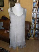 ROBE DEBARDEUR ETE MAILLE JERSEY  T36/38 SUMMER DRESS DRESS size S