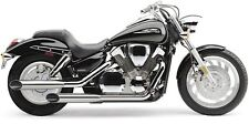 HONDA VTX 1300 C: Chrome Slip On Exhaust Mufflers/Tail Pipes COBRA 1180SC