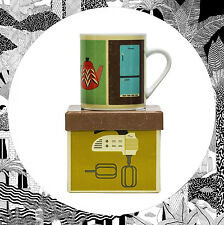CASA MODERNA TAZZA-CUCINA DESIGN-EAMES PANTON MID secolo in stile retrò vintage Magpie
