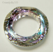 1x SWAROVSKI 4139 Vitrail Light COSMIC RING FRAME 14mm CRYSTAL BEAD