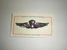 USMC PARATROOPER WINGS -  SILVER ANODIZED - FULL SIZE