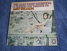 RARE 1971 AVENUE LABEL LP - ALAN CADDY ORCHESTRA - TRIBUTE TO ANDY WILLIAMS -EXC