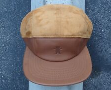 Grizzly Griptape Tan 5 Panels Logo Mens Skate Co. Strap Snapback Hat