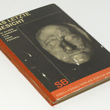 German Death Mask Photo Book 1920s The Last Face w/68 pictures of historical fig