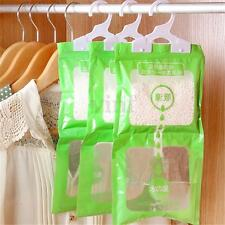 3pcs Interior Dehumidifier Desiccant Damp Storage Hanging Bags Wardrobe Rooms