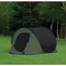 3-4 MAN PERSON POP UP TENT QUICK PITCH GO CAMPING FESTIVAL FISHING