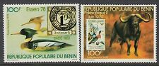 BIRDS : 1978 BENIN PhilexFrance(Birds)  set  SG 729-30 never-hinged mint