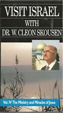 Visit Israel Dr W Cleon Skousen vol II 2 the ministry and miracles of jesus vhs