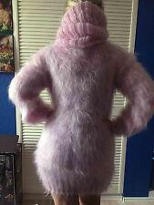 92% Mohair Sweater ,Kleid ,Riesen Großer Rollkragen Pullover XL