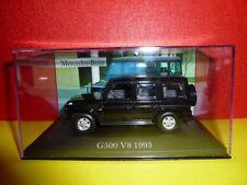 VOITURE IXO ALTAYA = MERCEDES BENZ G500 V8 1993 & BOITE PLEXI