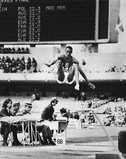 1968 Summer Olympics BOB BEAMON Glossy 8x10 Photo Mexico Print USA Poster