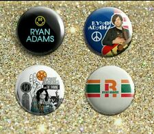 "1"" Ryan Adams  pinback button badges 7-11 paxam whiskeytown vinyl"