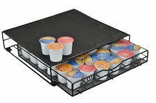 Keurig K-cup Storage Drawer Coffee Pod Holder for 36 K-cups Rack Organizer Black