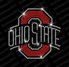 Ohio State Buckeyes Football - Bling - Iron-on Rhinestone Transfer