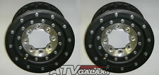 "HiPer Tech 3 Rear Beadlock Wheels Rims 10X7 Honda 700XX 700 XX Black 10"" 10/7"
