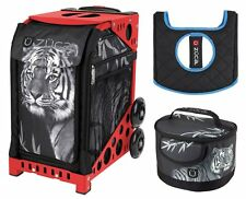 Zuca Bag TIGER Sport Insert and Red Frame, GIFT Lunchbox & Seat Cushion