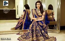 Bollywood Designer Woman Party Wedding Wear Ethnic Indian Heavy Lehenga Choli