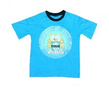 BOYS 2/3 years MANCHESTER CITY FC Pyjama T shirt Kids junior youth Football MAN