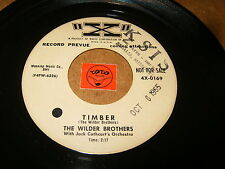 THE WILDER BROTHERS - TIMBER - YES AND NO - LISTEN - ROCK JAZZ POPCORN