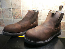 Men's JCB Agmaster Brown Dealer Work Boots UK 8 EU 42 RRP £75 ONLY £30 BOXED